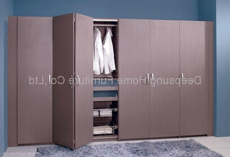 Trendy Folding Door Wardrobes Regarding Wardrobe With Folding Door – W 12 – Deepsung Home Furniture Co (View 13 of 15)