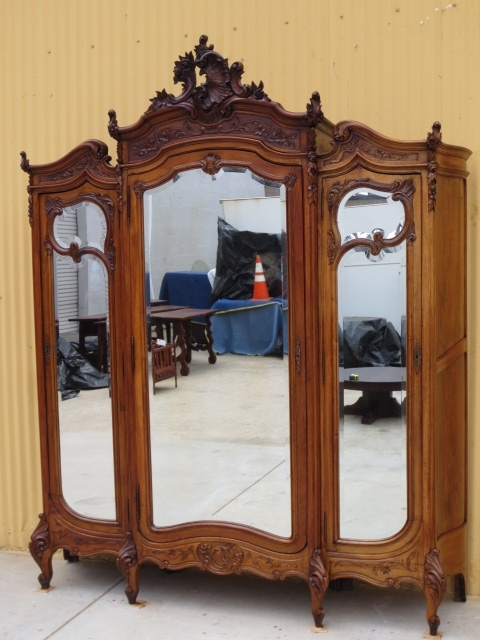 Trendy French Armoires And Wardrobes Throughout Antique Armoire Antique Wardrobe French Antique Furniture – To Die (View 14 of 15)
