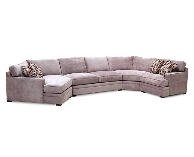 Trendy Furniture Row Sectional Sofas Regarding Glenwood 4 Pc (View 3 of 10)
