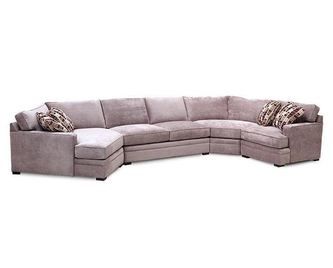 Trendy Furniture Row Sectional Sofas Regarding Glenwood 4 Pc (View 10 of 10)