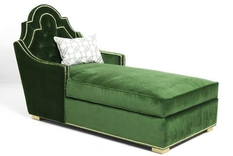 Trendy Green Chaise Lounge In Green Chaise Lounge Chairs (View 7 of 15)