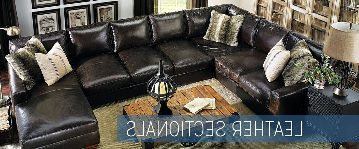 Trendy Haynes Sectional Sofas In Leather Sectional Sofas (View 10 of 10)