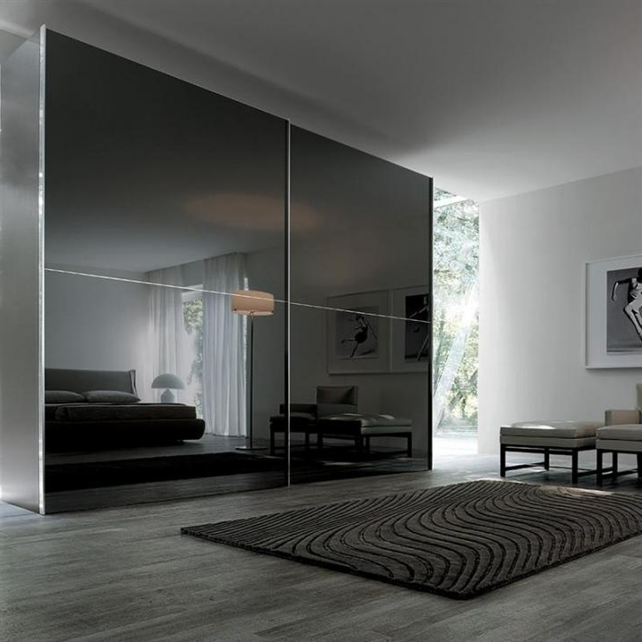 Featured Photo of High Gloss Black Wardrobes