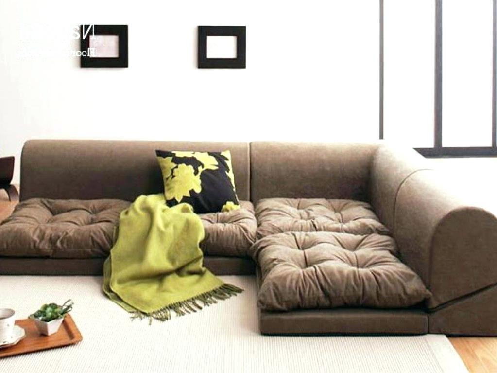 Trendy Inspirational Floor Cushion Couch For Floor Seating Furniture In Floor Cushion Sofas (View 8 of 10)