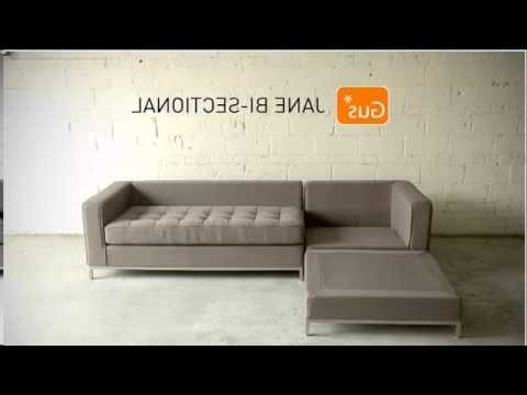 Trendy Jane Bi Sectional Sofas For Jane Bi Sectionalgus – Youtube (View 8 of 10)