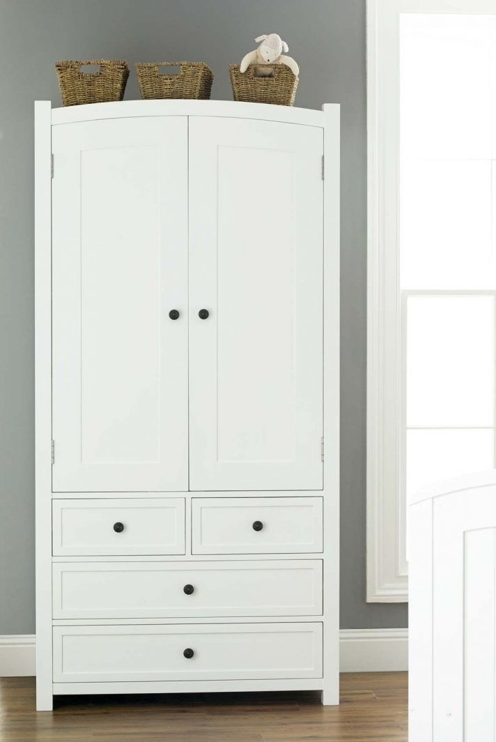 Trendy Large White Wardrobes With Drawers Intended For Wardrobe Closet With Drawers Cheap Kids Wardrobes Large White Tall (View 3 of 15)