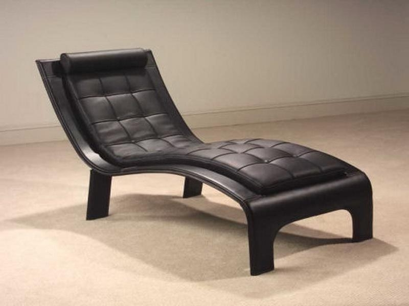 Trendy Leather Chaise Lounge Chairs Regarding Chaise Longue Sofa Bed : New Interiors Design For Your Home (View 15 of 15)