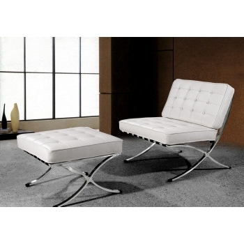 Trendy Lounge & Chaise, Modern Bubble Seats, Fabric Chairs, Waverly Throughout White Leather Chaises (View 12 of 15)