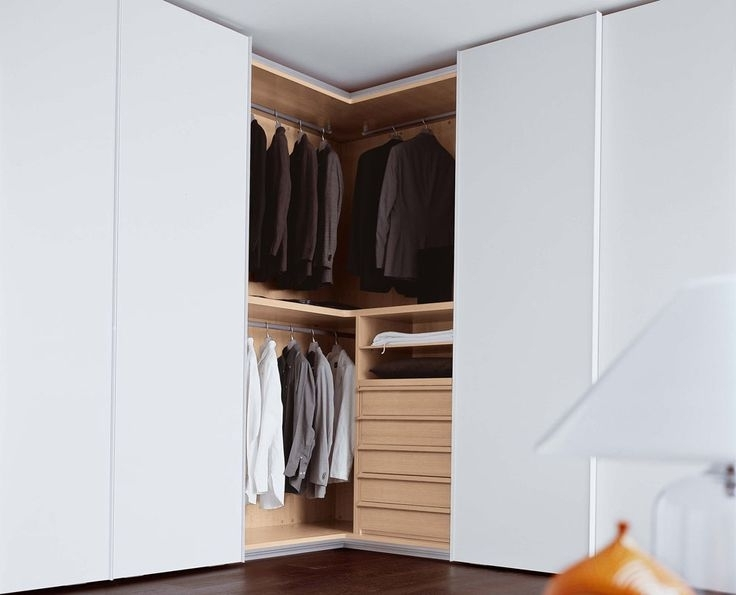 Trendy Novel Ideas Of Corner Wardrobe For Your Room – Blogalways Throughout White Corner Wardrobes Units (View 8 of 15)