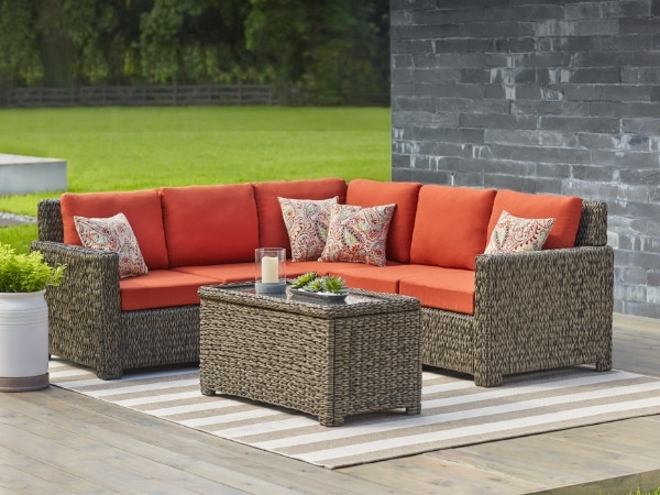 Trendy Patio Sofas With Regard To Patio Furniture – The Home Depot (View 9 of 10)