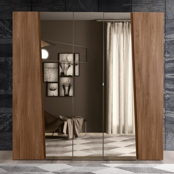 Trendy Products Within 5 Door Mirrored Wardrobes (View 4 of 15)