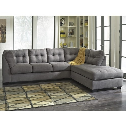 Trendy Sectional Sofa Design: Simple 2 Piece Sectional Sofas L Shaped Within 2 Piece Sectionals With Chaise (View 10 of 15)