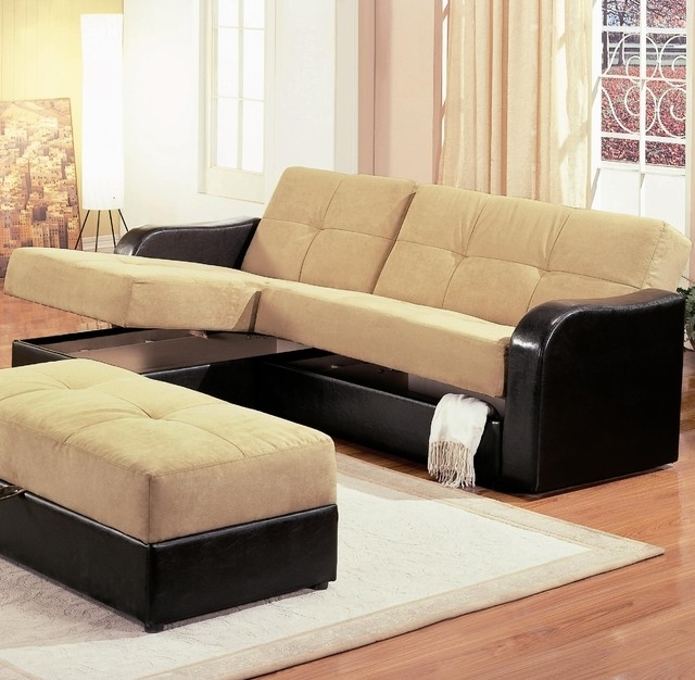 Trendy Sectional Sofas With Storage Pertaining To Sectional Sofa With Storage Stunning Sectional Sofas With Sleepers (View 3 of 10)