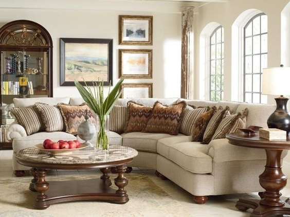 Trendy Sofa Beds Design: Cool Ancient Thomasville Sectional Sofas Design Throughout Thomasville Sectional Sofas (View 8 of 10)