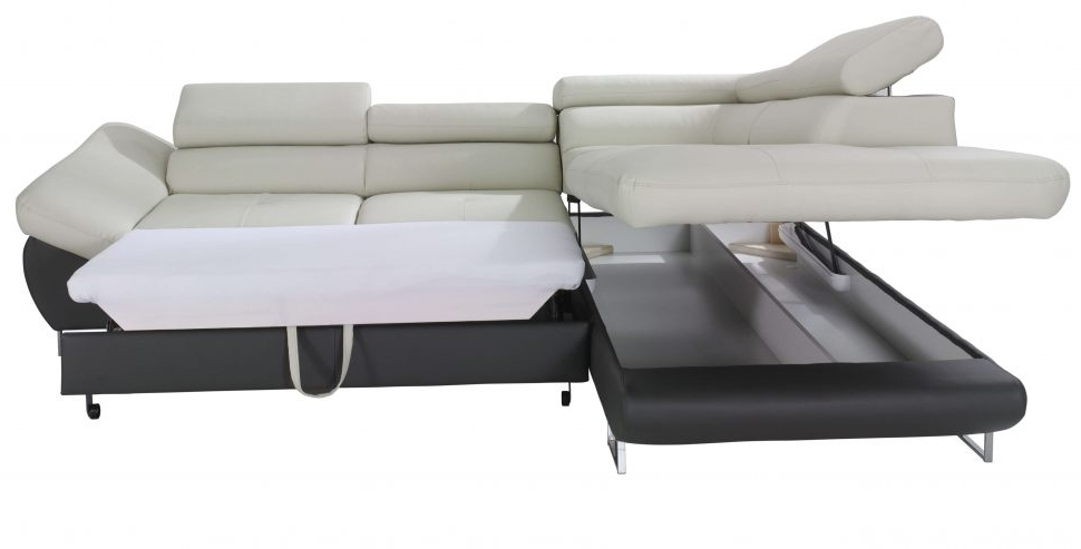 Trendy Sofa : Couch With Pull Out Bed Underneath Brown Sectional Pull Out Pertaining To Pull Out Sofa Chairs (View 8 of 10)