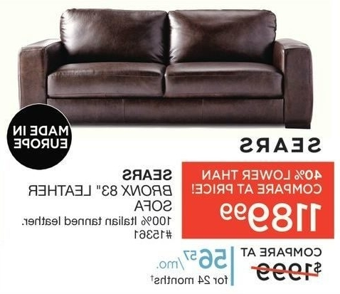 Trendy Sofas Couches Sears Pertaining To Leather Sofa Plans 7 Pertaining To Sears Sofas (View 9 of 10)