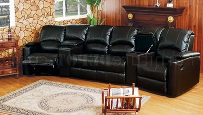 Trendy Theatre Sectional Sofas With 6 5040 Home Theater Leather Sectional Sofaacme (View 10 of 10)