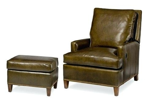 Trendy Tilt Back Chair And Ottoman Overstuffed Chairs With Ottoman Throughout Chairs With Ottoman (View 8 of 10)