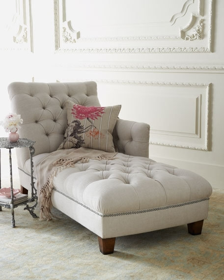 "Trendy Tufted Chaises With Maddox"" Tufted Chaise (View 2 of 15)"