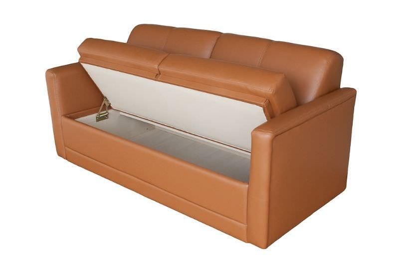 Trendy Yacht Sofa / With Storage Compartment – Companion 53 S60B Throughout Storage Sofas (View 10 of 10)