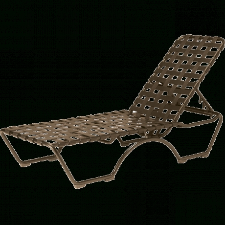 Tropitone Chaise Lounge Chairs And Pool Furniture From Parknpool In Well Liked Vinyl Chaise Lounge Chairs (View 7 of 15)