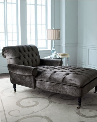 Tufted Chaise With Regard To Latest Tufted Chaises (View 9 of 15)