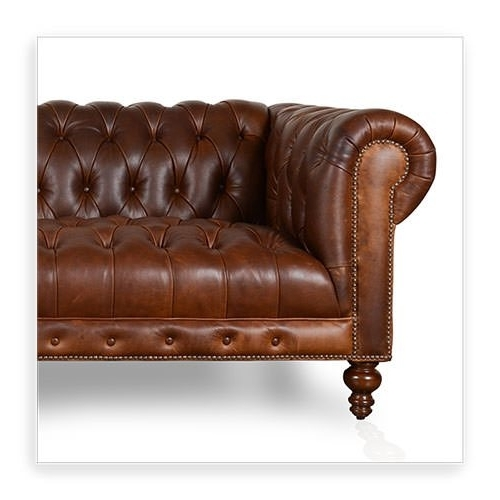 Tufted Leather Chesterfield Sofas For Most Popular Cococo Custom Chesterfield Leather Tufted Sofas – Made In Usa (View 6 of 10)
