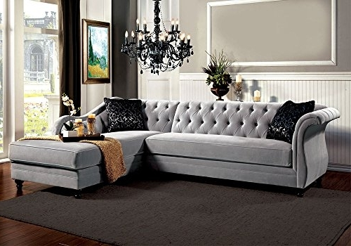 Tufted Sectional Sofas With Chaise Intended For Latest Product Reviews (View 7 of 10)
