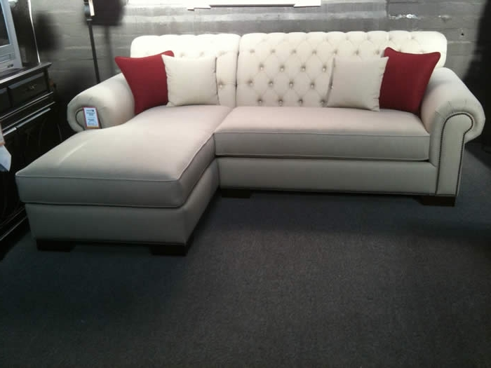 Tufted Sectionals With Chaise In Widely Used Sectional Sofa Design: Best Design Tufted Sectional Sofa With (View 12 of 15)