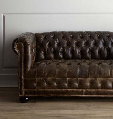 Tufted Sofas In Most Current Tufted Leather Chesterfield Sofas (View 7 of 10)