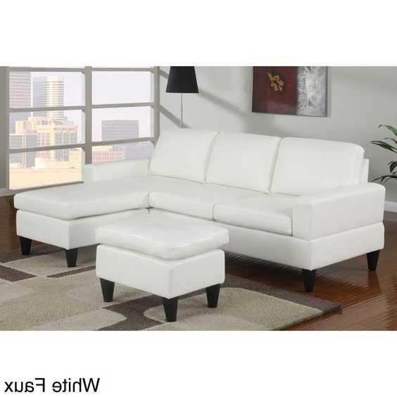 Tuscaloosa Sectional Sofas With Regard To Well Liked Poundex Furniture – Montreal Ash Black Small Sectional Sofa (View 10 of 10)