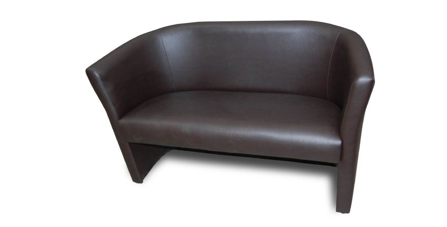 Two Seater Small Tub Sofa Pertaining To Fashionable Small 2 Seater Sofas (View 10 of 10)
