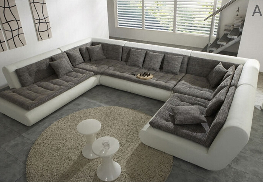 U Shaped Sectional Sofas – Quantiply (View 10 of 10)