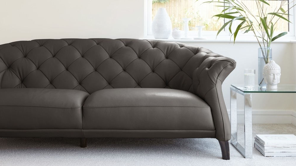 Uk With Most Up To Date Modern 3 Seater Sofas (Gallery 3 of 10)