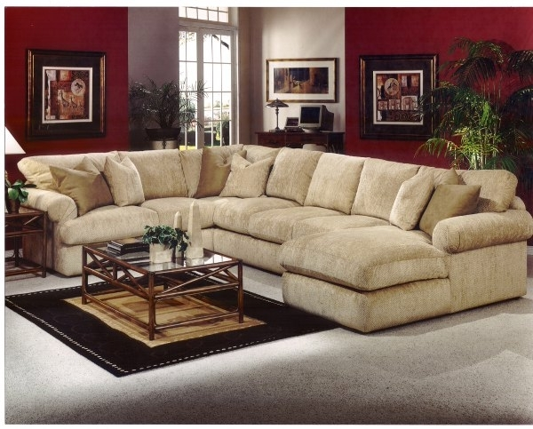 Unique Down Filled Sectional Sofa 47 Sofas And Couches Set With In Most  Recently Released Down