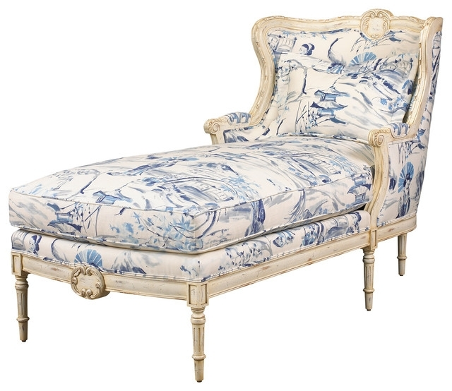 Upholstered Chaise Lounge Chairs In Well Liked Best Of French Chaise Lounge High Chic Elegance Daybeds Furniture (Gallery 10 of 15)