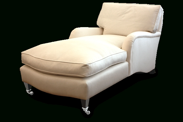 Upholstered Chaise Lounge Chairs Within Recent St. Marks Upholstered Chaise Lounge (Gallery 5 of 15)