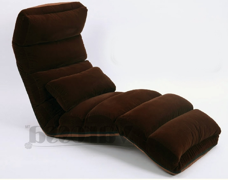 Varossa Chaise Lounge Recliner Chair Sofa Bed Intended For Latest Varossa Chaise Lounge Recliner Chair Sofabeds (View 5 of 15)
