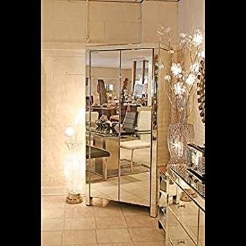 Venetian Mirrored/glass 2 Door Double Wardrobe With Drawers In 2018 Venetian Glass Wardrobes (View 14 of 15)