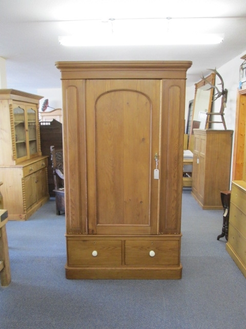 Victorian Pine Wardrobe (w 003) Sold Pertaining To Recent Victorian Pine Wardrobes (View 8 of 15)
