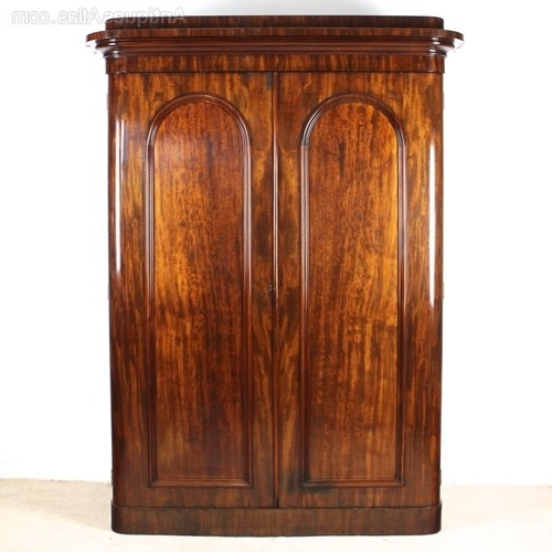 Victorian Wardrobes Within Most Recently Released Victorian Mahogany Wardrobewylie & Lochhead – Antiques Atlas (View 5 of 15)