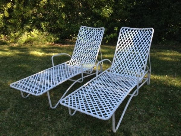 Vintage Brown Jordan Tamiami Chaise Lounge Chairs (View 10 of 15)