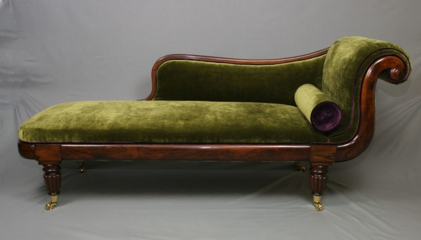 Vintage Chaise Lounge Chair Theamphletts Antique Chaise Lounge In Regarding 2018 Vintage Chaise Lounge Chairs (Gallery 15 of 15)