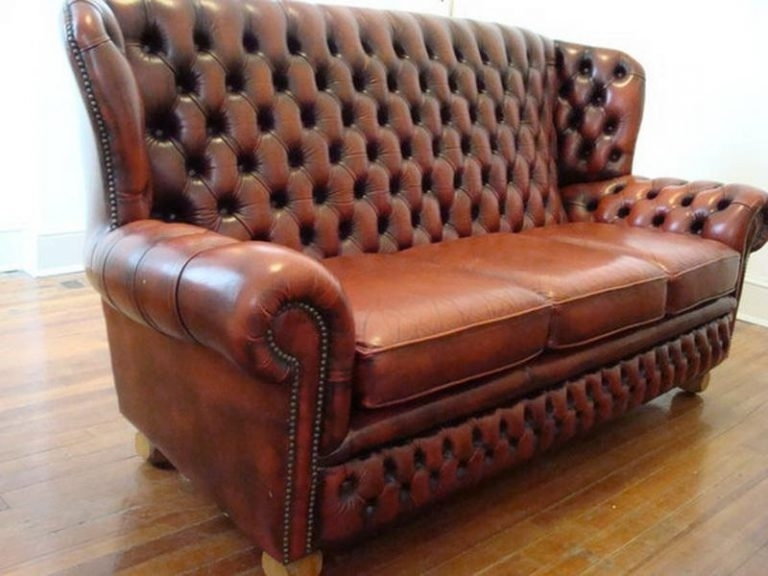 Vintage Chesterfield Sofas Within Widely Used Vintage Chesterfield Sofa Tufted — Apocelena : Vintage Vintage (View 10 of 10)