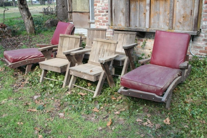 Vintage Outdoor Chaise Lounge Chairs Regarding Famous Norcal Online Estate Auctions & Estate Liquidation Sales – Lot # (View 14 of 15)