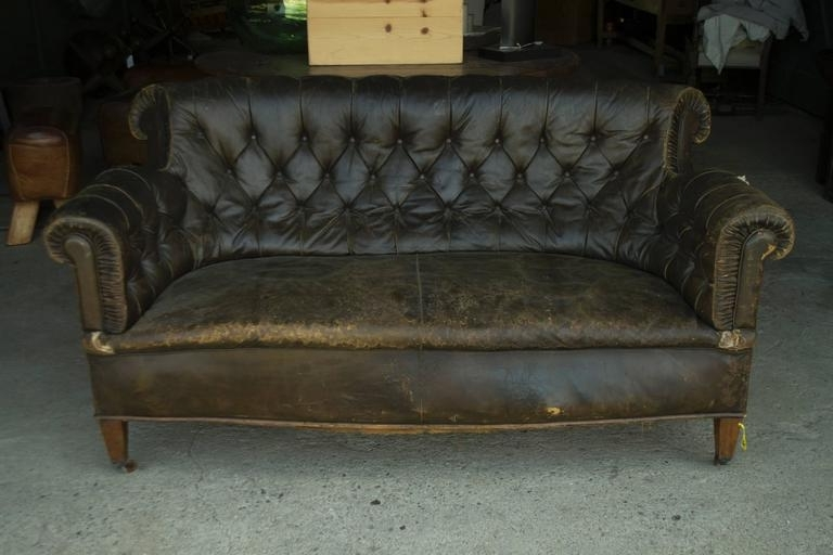 Vintage Sofas Pertaining To Most Recent Leather Chesterfield Sofa For Sale At 1Stdibs (View 9 of 10)