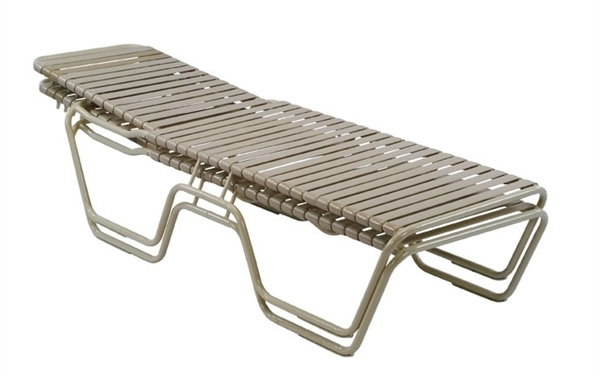 Vinyl Strap Chaise Lounge Chairs Intended For Well Liked Innovative Commercial Pool Chaise Lounge Chairs Pool Furniture (View 7 of 15)