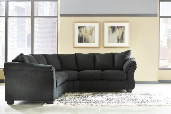 Virginia Beach Sectional Sofas With Current New Black Sectional Couch (Furniture) In Virginia Beach, Va – Offerup (Gallery 9 of 10)
