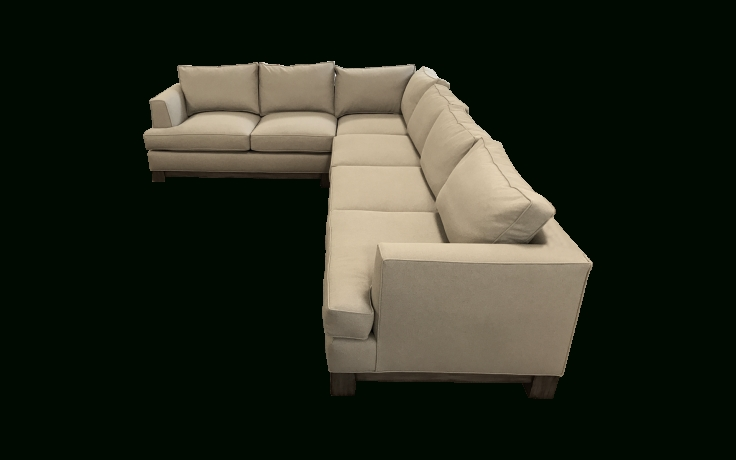 Viyet – Designer Furniture – Seating – Swaim F116 L Shaped With Regard To Well Known L Shaped Sectional Sofas (View 8 of 10)