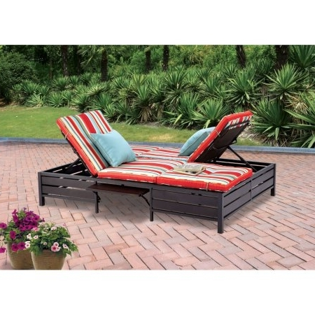 Walmart Chaise Lounge Chairs Intended For Well Known Chair Cheap Outdoor Lounge Chairs Walmart Within Patio Chaise (View 4 of 15)